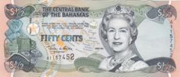 Bahamas - Billet De 1/2 Dollar - 50 Cents - Elizabeth II - 2001 - P68 - Neuf - Bahamas