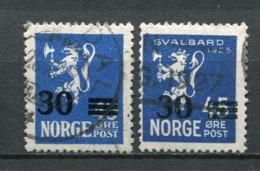 Norwegen Nr.134 + 135      O  Used           (1119) - Norwegen