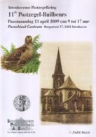 BUZIN / ATTENHOVE 2009 / FORMAT A4 / QUELQUES TRES LEGERES TRACES DE MANIPULATION - 1985-.. Birds (Buzin)
