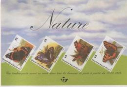 BUZIN / DOCUMENT PUBLICITAIRE DE LA POSTE / 1993 / FORMAT 14 Cm SUR 9,5 Cm / PAPIER TRES LEGER - 1985-.. Oiseaux (Buzin)