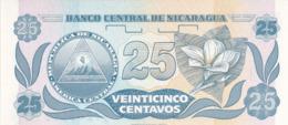 Nicaragua - Billet De 25 Centavos De Cordoba - F.H. De Cordoba - 1991 - Neuf - Nicaragua