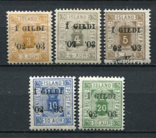 Island Dienst Ex.Nr.10/5      *  Unused, O  Used + ** MNH           (216) - Dienstzegels