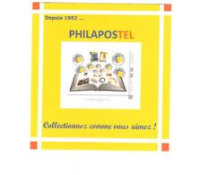 MINI COLLECTOR FRANCE AVEC UN SEUL TIMBRE Philapostel 2019 COLLECTIONNEZ COMME VOUS AIMEZ 8 X 8,5 CM Lettre Verte - France