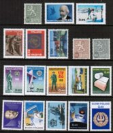 1968 Finland Complete Year Set MNH. - Finland
