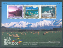 NEW ZEALAND - MNH/** - 2000 - STAMPSHOW LANDSCAPE - Yv 139 -  Lot 20648 - Blocs-feuillets