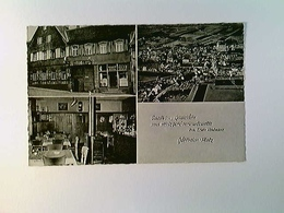Göllheim, Saalbau-Gaststätte-Metzgereiverkauf Erwin Kohlmann, AK, Gelaufen 1961 - Deutschland