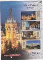 2018 - ROMANIAN Small Calendar Romfilatelia-stamp Issue -IASI- Palace Of Culture-( 10 X 7cm) -2 Scans - Calendriers