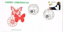 Mexique. FDC. Abeille Et Poupée. Congrès International D'apiculture - Abejas