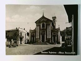 Veniano Inferiore, Chiesa Parrocchiale, Autos, AK, Gelaufen 1964 - Ohne Zuordnung