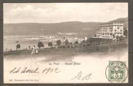 Carte P De 1902 ( Le Pont - Grand Hôtel ) - VD Vaud