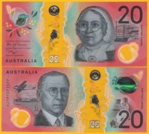 Australia 20 Dollars P-new 2019 UNC Polymer Banknote - Australia