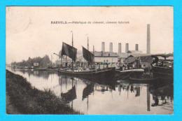 CPA RAEVELS / RAVELS : Fabrique De Ciment, Ciment Fabriek - Circulée 1919 - Uitg. Reymans - 2 Scans - Ravels
