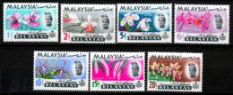 KELANTAN  1965  ORCHIDS  SET  MNH - Kelantan