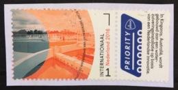 Netherlands Used 2016 Borderless Netherlands - Australia, Priority - Usados