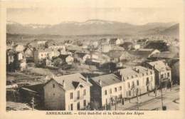 74 - ANNEMASSE - COTE SUD EST ET LA CHAINE DES ALPES - Annemasse