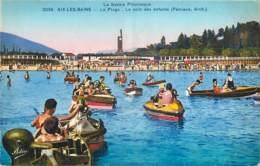 73 - AIX LES BAINS -  LA PLAGE - LE COIN DES ENFANTS - Aix Les Bains