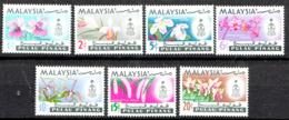 PENANG  1965  ORCHIDS  SET  MNH - Penang