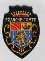 écusson Brodé Ancien Franche Comté Armoiries Blason - Ecussons Tissu