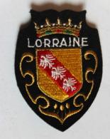 écusson Brodé Ancien Lorraine Armoiries Blason - Ecussons Tissu