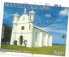 851  église   (boisorbla) - Used Stamps