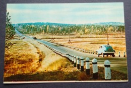 RUSSIA, WAY FROM IRKUTSK TO LAKE BAIKAL 1968 - Russland
