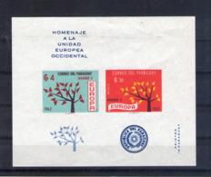 Paraguay. Vignette. Hommage à L'europe 1962 Non Dentelé - Paraguay