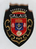 écusson Brodé Ancien Calais Armoiries Blason - Ecussons Tissu