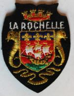 écusson Brodé Ancien La Rochelle Armoiries Blason - Ecussons Tissu