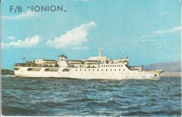 Nave Ship - FB Ionion - Traghetti