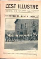 L'est Illustré Journal Complet Du 22 Septembre 1929. 1 De Couverture  Les Croisés De La Paix A Lunéville - Colecciones