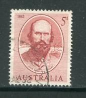 AUSTRALIE- Y&T N°278- Oblitéré - 1952-65 Elizabeth II : Ed. Pré-décimales
