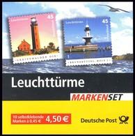 58bI MH Leuchttürme Greifswald / Brunsbüttel - Gestempelt WEIDEN 7.7.2005 - BRD