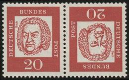 K4 Zusammendruck Bach, Postfrisch - [7] République Fédérale
