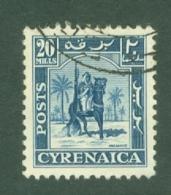 Cyrenaica: 1950   Mounted Warrior    SG144    20m    Used - Cirenaica
