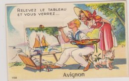 84 AVIGNON  CARTE A SYSTEME  Bon Etat - Avignon