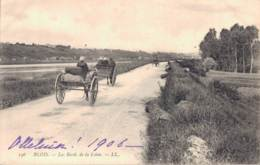 41 BLOIS LES BORDS DE LA LOIRE ATTELAGES PAS CIRCULEE 1906 - Blois