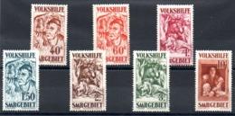 SARRE - YT N° 141 à 147 - Neufs ** - MNH - Cote: 500,00 € - Unused Stamps