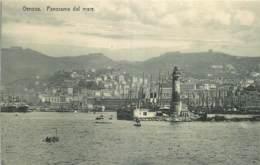 ITALIA - GENOVA - PANORAMA DAL MARE - Genova (Genoa)