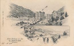 ST.MORITZ-BAD HOTEL BELLEVUE AU LAC - AI Appenzell Rhodes-Intérieures