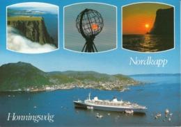Nave Ship - Nordkapp Honningsvag S.S. Norway - Transbordadores