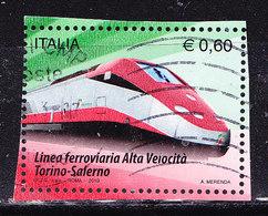 Italia 2010-TAV-Usato-simile - 2001-10: Oblitérés