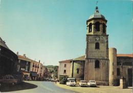 LEMPDES - L'église - Voiture : Renault R 6 - R 16 - Peugeot 404 - Francia