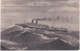 SS. LOTUS. Paquebot Français Des Messageries Maritimes - Paquebots