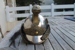 Casque D Officier De Dragons Modele 1874 - Headpieces, Headdresses