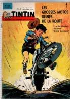 Tintin N°822 Les 500 CC B.M.W ,B.S.A, Norton, Royal-Enfield, Triumph, Velocette - Ange Pitou - Strapontin De 1964 - Tintin