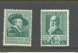 299/300 RUBENS EN GRAMME POSTFRIS** 1930 - Belgium