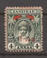 ZANZIBAR - 1904 - N° 72 - NEUF X MVLH - Zanzibar (...-1963)