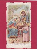Devotieprent La Sainte Famille - Devotion Images