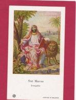 Devotieprent Sint Marcus - Devotion Images
