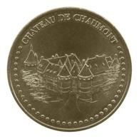 Monnaie De Paris , 2018 , Chaumont Sur Loire , Château , Face Simple - Monnaie De Paris